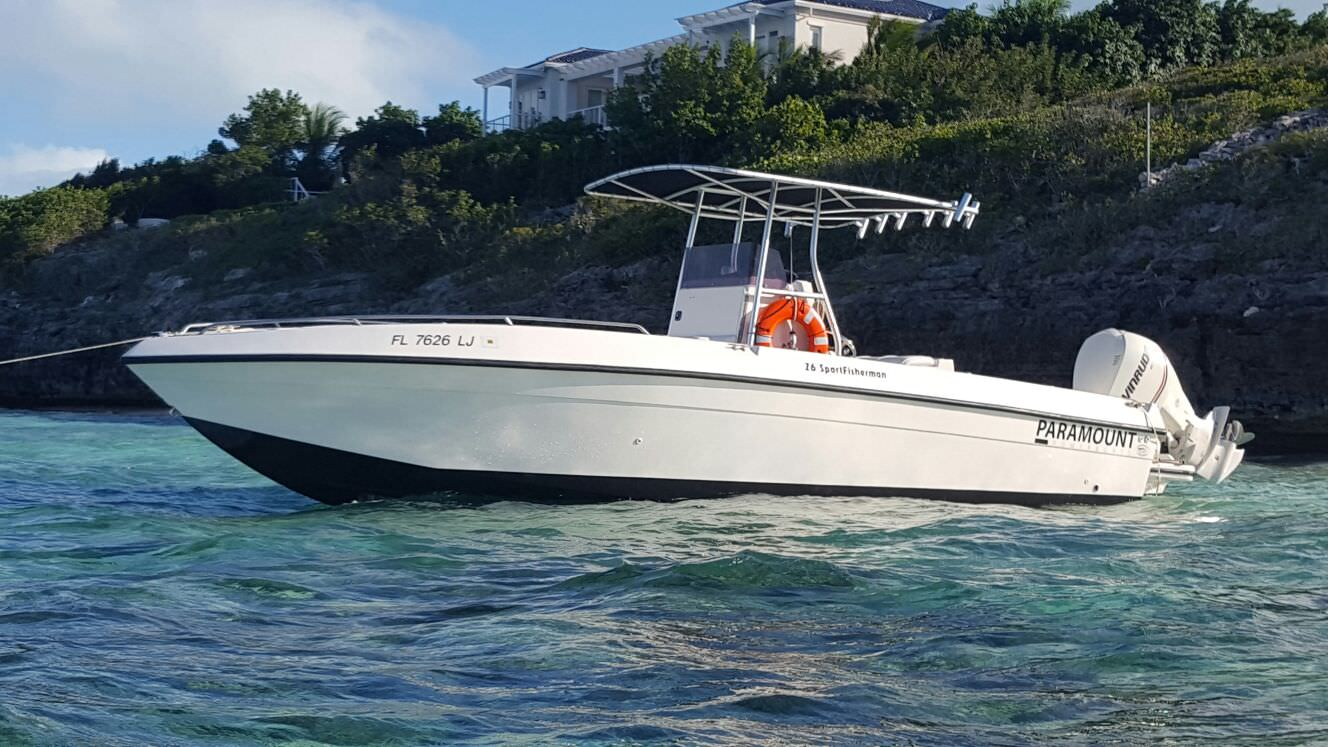 caicos water fun boat | Fishing, Snorkeling