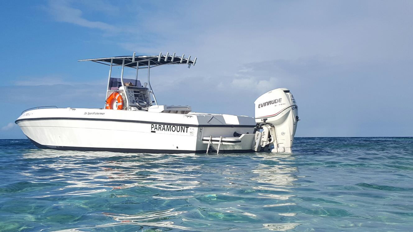 caicos water fun boat