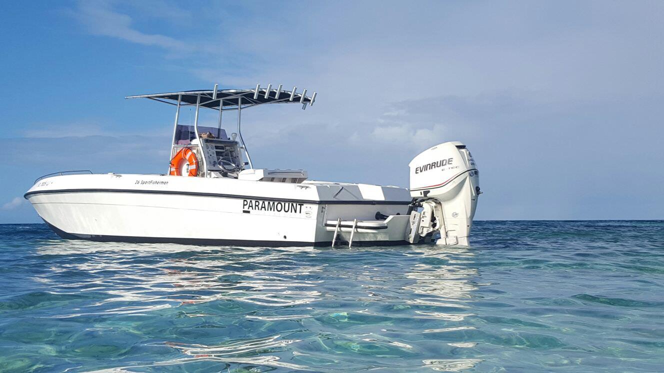 caicos water fun boat
